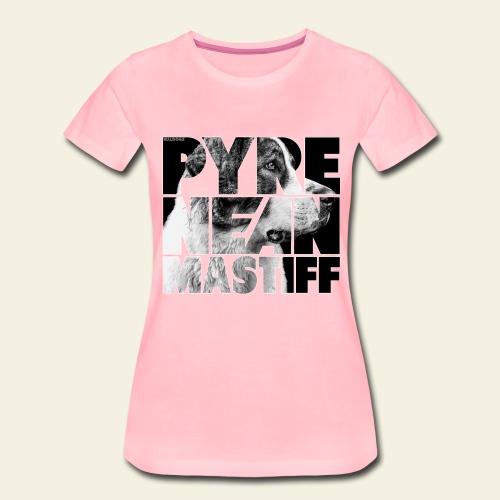 Pyrenean Mastiff II - Naisten premium t-paita