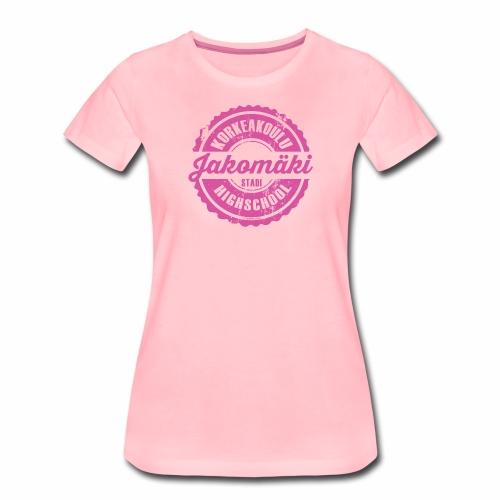 77P-JAKOMÄEN KORKEAKOULU - Stadi, Helsinki - Naisten premium t-paita