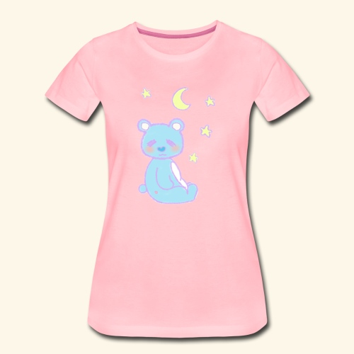 Sleepy bear - T-shirt Premium Femme