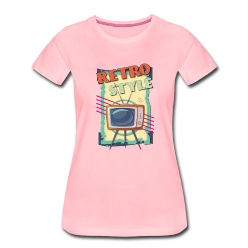TV RETRO STYLE 01 - Maglietta Premium da donna