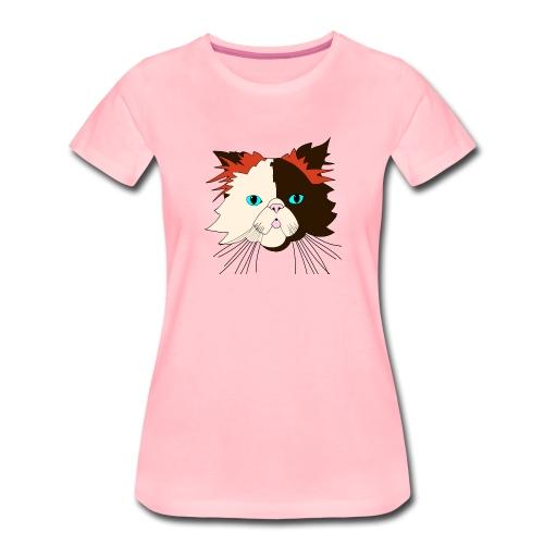 Katze - Brownie - Theophil-Nerds - Frauen Premium T-Shirt