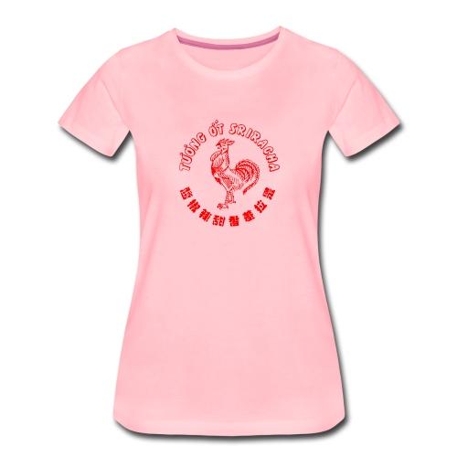 sriracha sauce merch - Premium-T-shirt dam