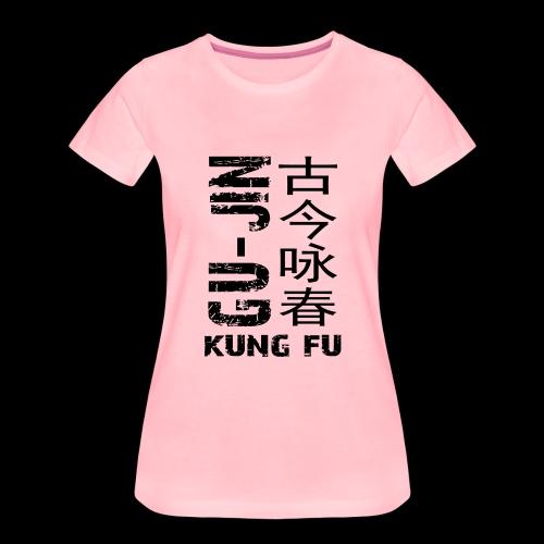 sidewaysgrayedlogo - Women's Premium T-Shirt