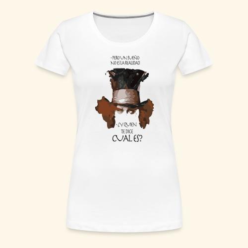 CUAL ES - Camiseta premium mujer