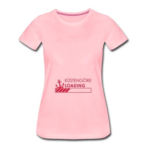 Küstengöre loading - Frauen Premium T-Shirt