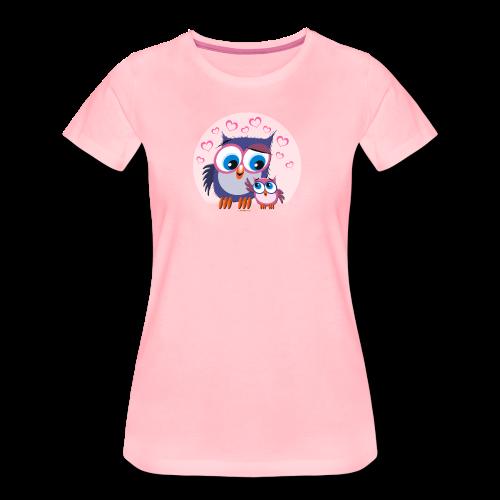 10-31 OWLS - PÖLLÖT - Naisten premium t-paita