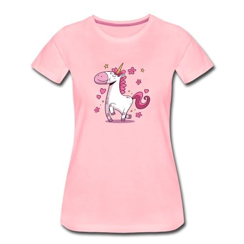 Koszulka jednorożec 4 - Koszulka damska Premium