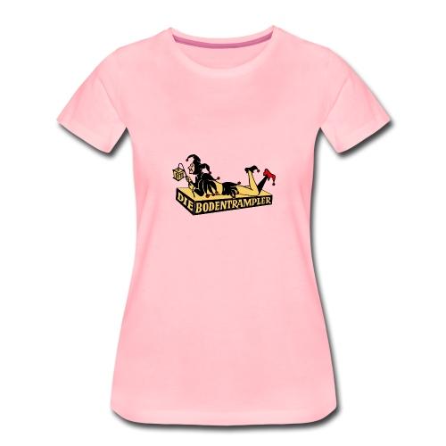 Bodentrampler Transparenz - Frauen Premium T-Shirt