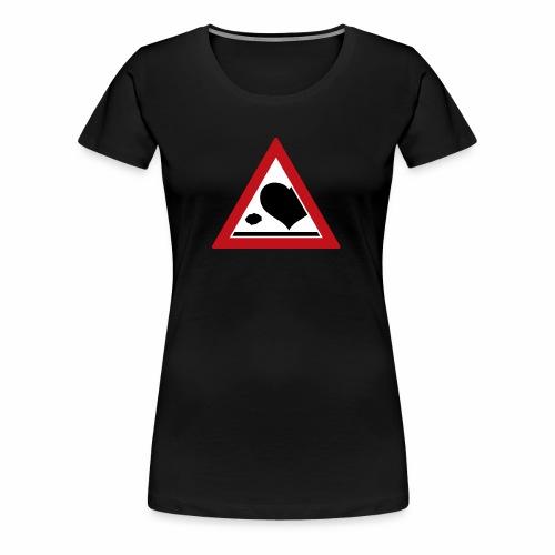 Stein vom Herzschlag - Frauen Premium T-Shirt