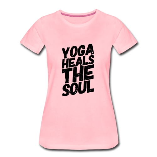 yoga heals the soul - Vrouwen Premium T-shirt