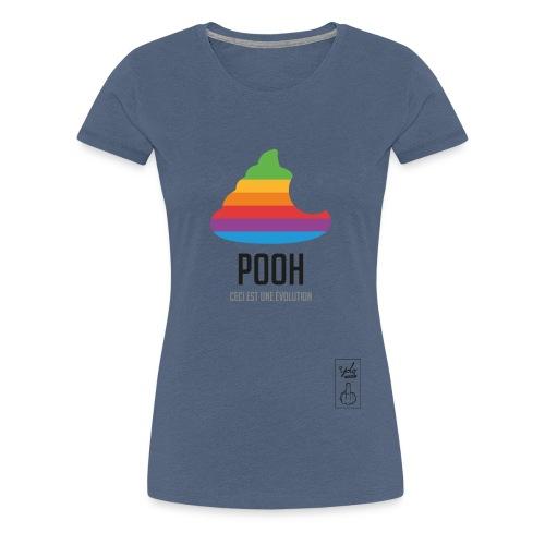 pooh - T-shirt Premium Femme
