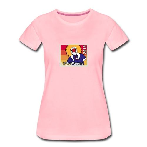 LittleWaggis - Briefmarke - Frauen Premium T-Shirt