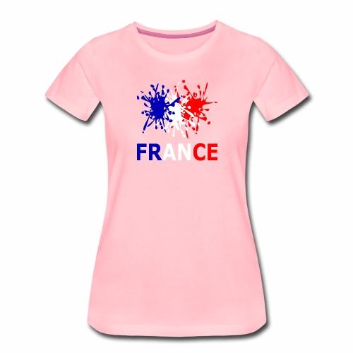 France - red white blue - Women's Premium T-Shirt