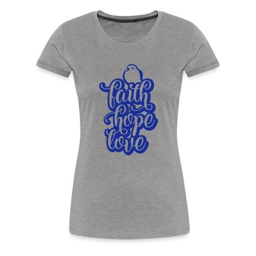 typo kinder 2016outline c - Frauen Premium T-Shirt