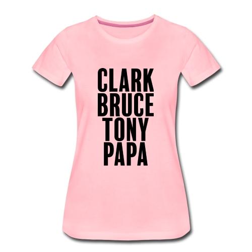 Mon père ce héro - T-shirt Premium Femme