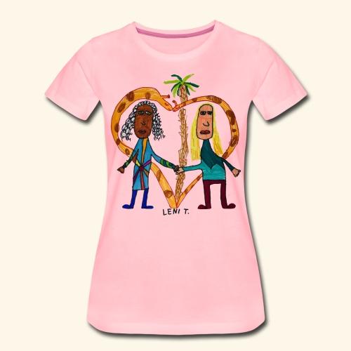 LeniT BFF - Naisten premium t-paita