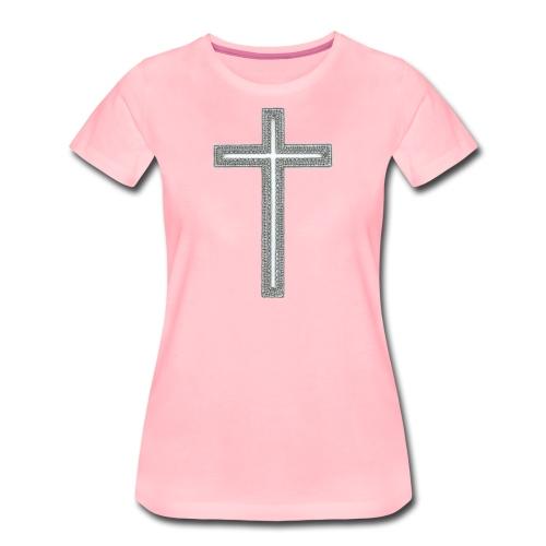 Croix - T-shirt Premium Femme