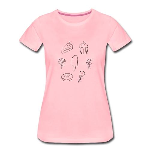 Süßigkeiten - Frauen Premium T-Shirt