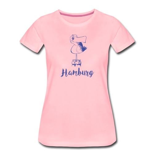 Hamburg Möwe - Frauen Premium T-Shirt