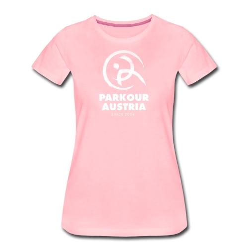 PKA_Logo_whitegesamt - Frauen Premium T-Shirt