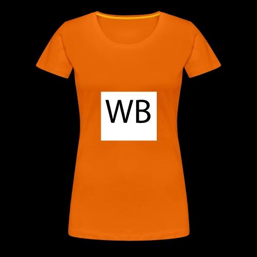 WB Logo - Frauen Premium T-Shirt