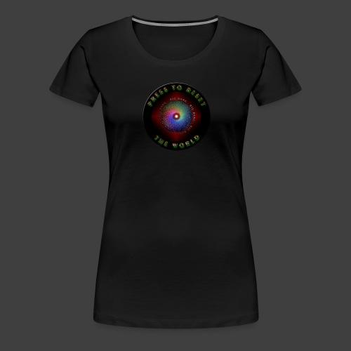 Press to reset the world - Women's Premium T-Shirt
