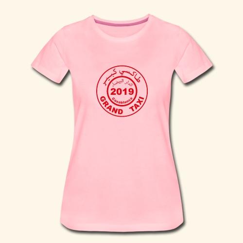 Logo du Grand Taxi de Casablanca 2019 - T-shirt Premium Femme