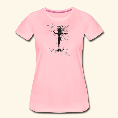 Shaka, Female Singer - Women's Premium T-Shirt