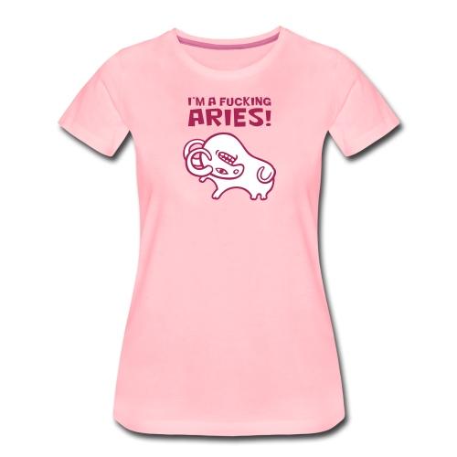 Aries - Maglietta Premium da donna