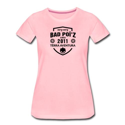 Flexographie BadPoiZ 10 - T-shirt Premium Femme