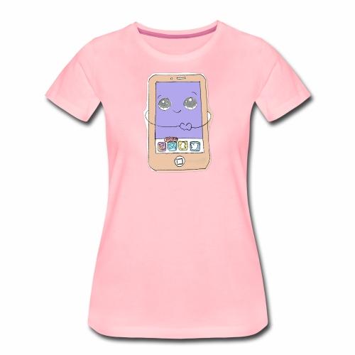 phone - Naisten premium t-paita
