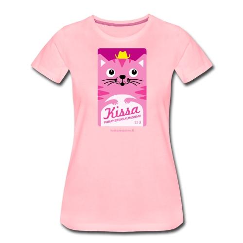 Kissa - Naisten premium t-paita