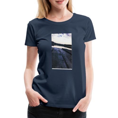 Zachód na roztoczu - Koszulka damska Premium