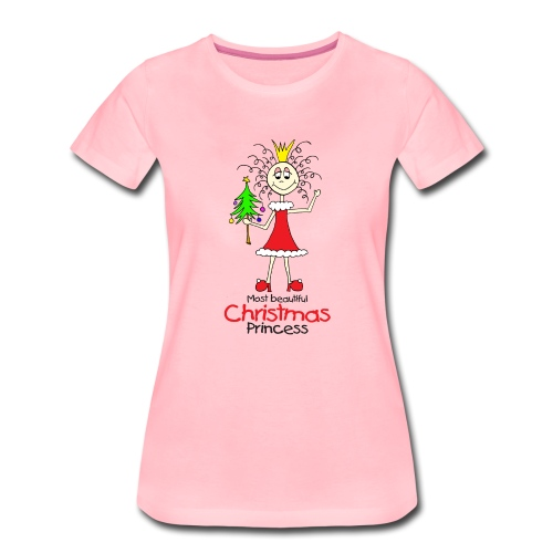 Most beautiful Christmas Princess - Frauen Premium T-Shirt