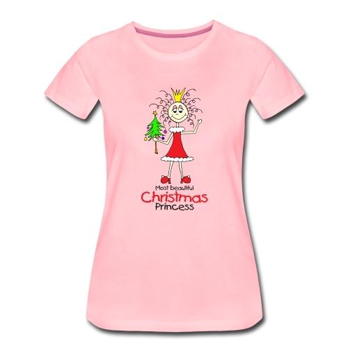 Most beautiful Christmas Princess - Frauen Premium T-Shirt