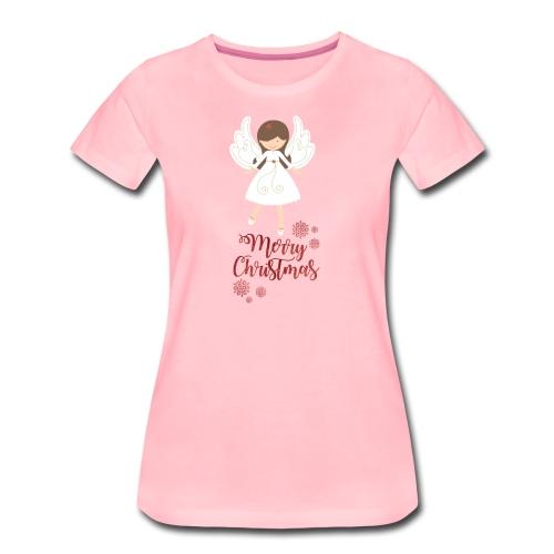 Weihnachtstasse - Frauen Premium T-Shirt