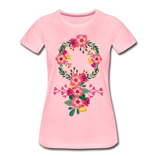 Venussymbol - Premium-T-shirt dam