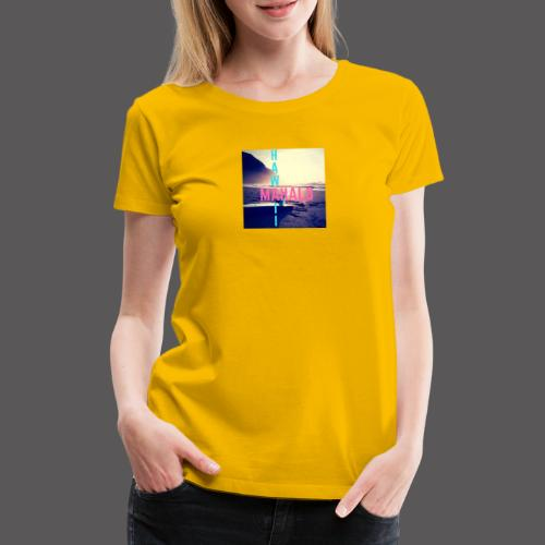 Hawaii Mahalo - Frauen Premium T-Shirt