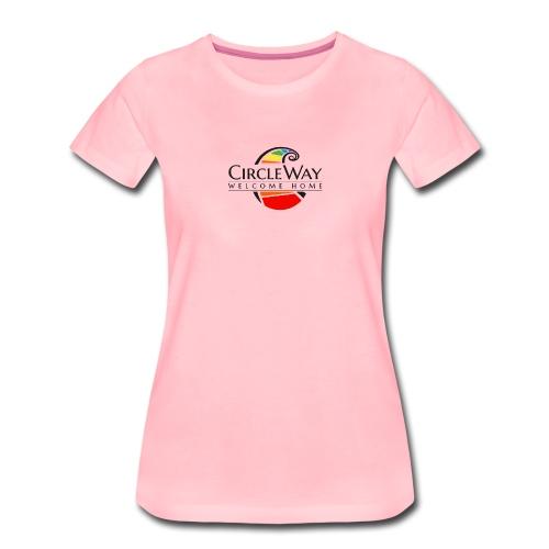 Circleway Welcome Home Logo - schwarz - Frauen Premium T-Shirt