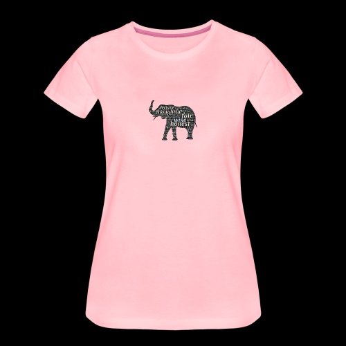 Elephant By Connected - T-shirt Premium Femme