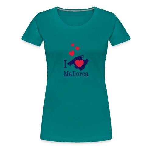 love Mallorca Balearen Spanien Ferieninsel Urlaub - Women's Premium T-Shirt