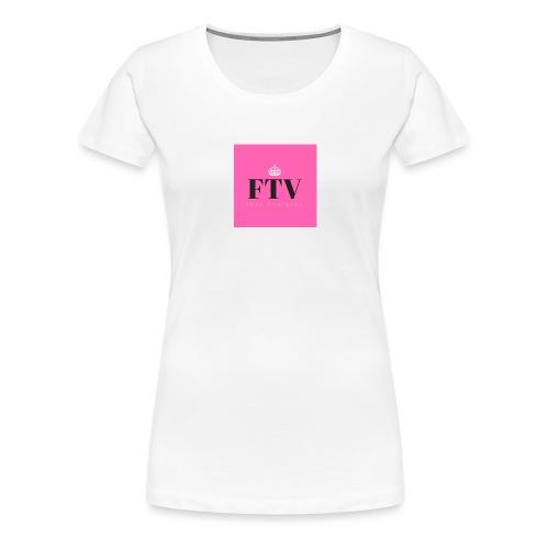 feel the vibe - Premium-T-shirt dam