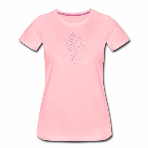 Eiskunstläuferin - Frauen Premium T-Shirt
