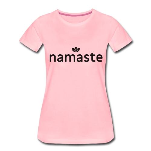 Namaste - Lotus Blume - Frauen Premium T-Shirt