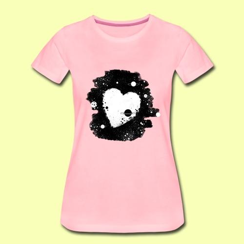 Herz Sterne - Frauen Premium T-Shirt