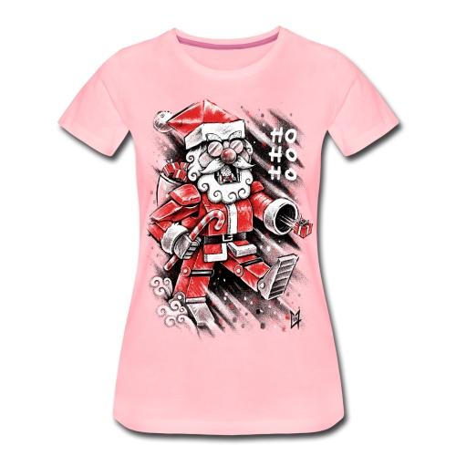 Robot Santa Claus - Women's Premium T-Shirt