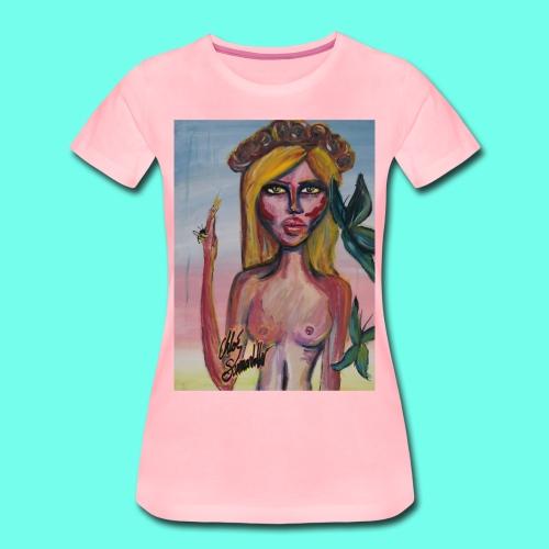 Dark Heaven - Premium-T-shirt dam