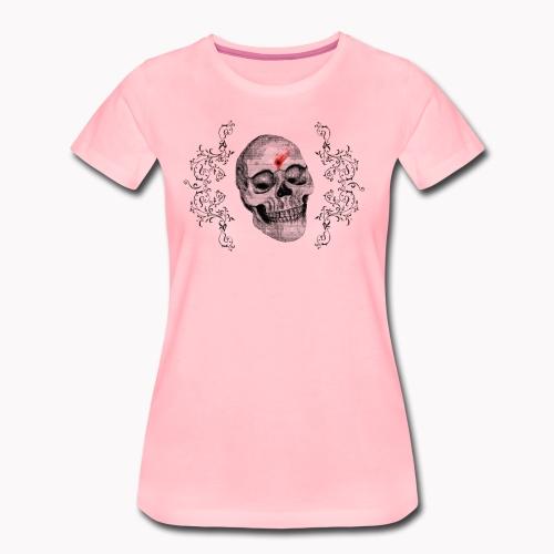 Skull One Bullet - T-shirt Premium Femme