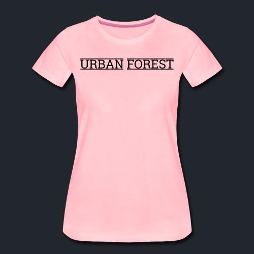 urban forest - Vrouwen Premium T-shirt