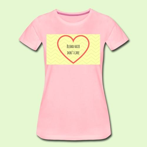 Blond rules! - Women's Premium T-Shirt